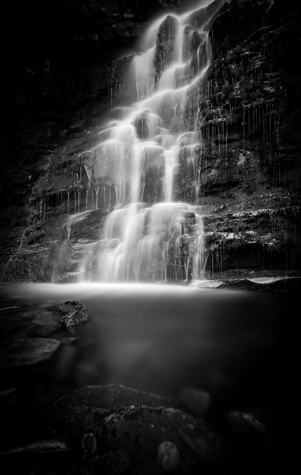 Middle Black Clough Waterfall