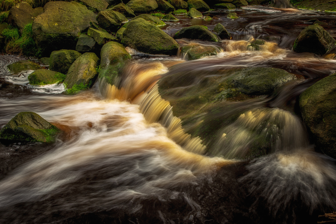 Black Clough Waterflow